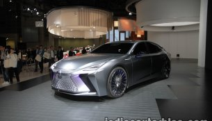 Lexus LS+ Concept at the 2017 Tokyo Motor Show - Live