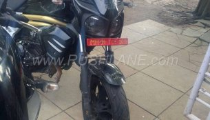 Low-cost variant of Mahindra Mojo spotted testing in Maharashtra