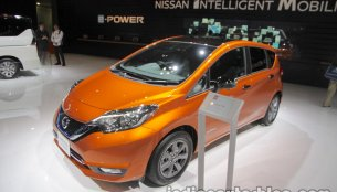 Nissan Note e-Power at 2017 Tokyo Motor Show - Live