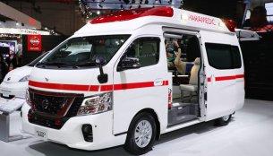 Nissan Paramedic Concept at 2017 Tokyo Motor Show - Live