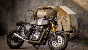 Custom Royal Enfield Continental GT by Thailand's OK Easy Shop