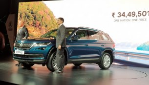 Skoda Kodiaq launched in India, priced at INR 34.50 lakh