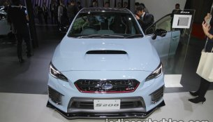 Subaru WRX STI S208 Limited Edition at the 2017 Tokyo Motor Show - Live