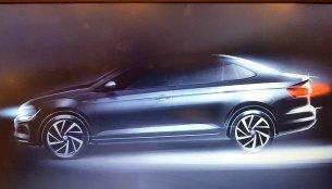 VW Virtus (Next-gen Vento/2018 VW Polo sedan) teased in Brazil