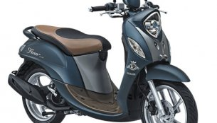 Yamaha Fino 125 updated with tubeless tyres & new colours in Indonesia