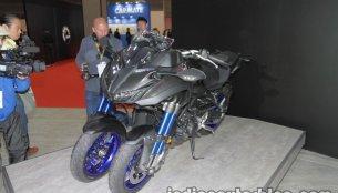 Yamaha Niken & Yamaha Tritown debut at 2017 Tokyo Motor Show - Live