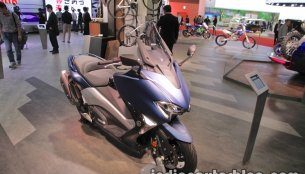 Yamaha TMax 530 & Yamaha Tricity 155 at the 2017 Tokyo Motor Show - Live