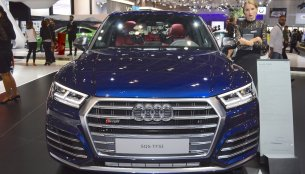 2017 Audi SQ5 showcased at the 2017 Dubai Motor Show