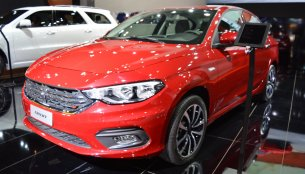 2017 Dodge Neon showcased at the 2017 Dubai Motor Show