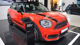 Accessorised 2017 MINI John Cooper Works Countryman showcased at the 2017 Dubai Motor Show