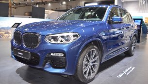2018 BMW X3 showcased at the 2017 Dubai Motor Show