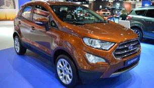 2018 Ford EcoSport showcased at the 2017 Dubai Motor Show