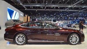 2018 Lexus LS showcased at the 2017 Dubai Motor Show