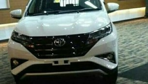 2018 Toyota Rush leaked ahead of launch