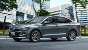 2018 VW Virtus (VW Polo based sedan) unveiled