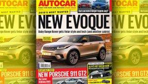 Second generation 2019 Range Rover Evoque imagined