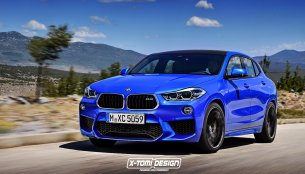 BMW X2 M rendered in near-production guise
