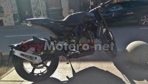 Production Husqvarna Vitpilen 701 spied in Spain