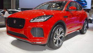 Jaguar E-Pace First Edition showcased at the 2017 Dubai Motor Show