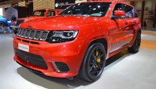 Jeep Grand Cherokee Trackhawk showcased at the 2017 Dubai Motor Show