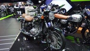 Kawasaki W250 & Kawasaki W175 SE at 2017 Thai Motor Expo - Live