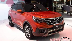 Kia NP showcased at the 2017 Guangzhou Auto Show