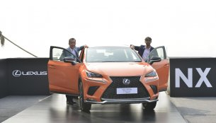 Lexus NX 300h announced for India