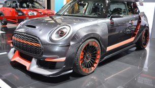MINI John Cooper Works GP Concept showcased at the 2017 Dubai Motor Show