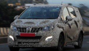 IAB reader spots Mahindra's Toyota Innova Crysta rival on test