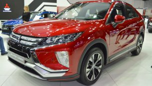 Mitsubishi Eclipse Cross showcased at the 2017 Dubai Motor Show