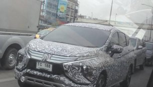 Mitsubishi Xpander reaches Thailand for local testing