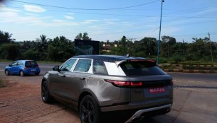 Range Rover Velar First Edition spotted in Goa