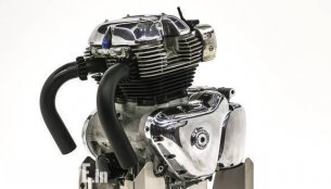 Royal Enfield 650 cc parallel twin engine revealed - Report