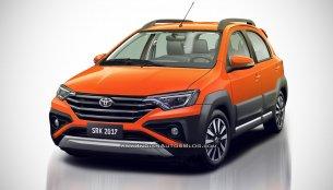Toyota Etios Cross facelift - IAB Rendering