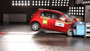 India-made Toyota Etios awarded a 4-star safety rating in South Africa