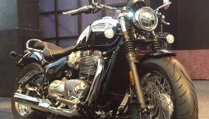 Triumph Bonneville Speedmaster unveiled in India; launch in April 2018 - Report