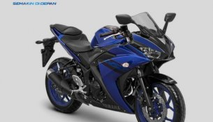 Yamaha YZF-R25 updated with new colours in Indonesia