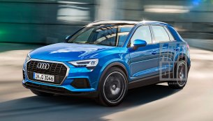 German media renders MQB-based 2018 Audi Q3