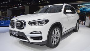 2018 BMW X3 at 2017 Thai Motor Expo - Live