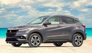 2018 Honda HR-V (facelift) - IAB Rendering