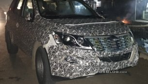 IAB reader spots the 2018 Mahindra XUV500 (facelift) on pre-launch test runs