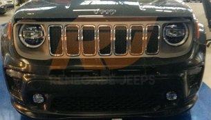 India-bound 2019 Jeep Renegade (facelift) exterior & interior leaked