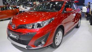 Accessorised Toyota Yaris Ativ at 2017 Thai Motor Expo - Live