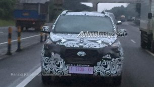 Datsun GO Cross spied in Indonesia