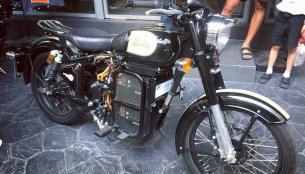 Electric Royal Enfield Classic 500 spotted in Thailand