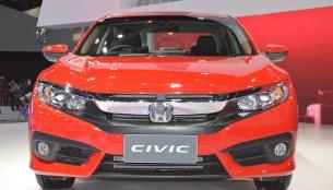 Honda Civic 'Red' at 2017 Thai Motor Expo - Live