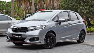 India-bound Honda Jazz facelift in China - In 8 Images