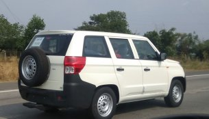 Mahindra TUV300 Plus spied on test, ready for launch