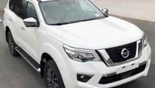 Nissan Terra (Nissan Navara-based SUV) spied completely undisguised