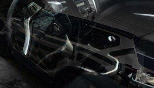 Nissan Terra (Nissan Navara-based SUV)'s interior exposed